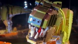 Brick Dinos: T.rex in Lego