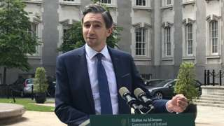 Republic's Minister for Higher and Further Education Simon Harris