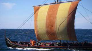 Replika vikinškog broda