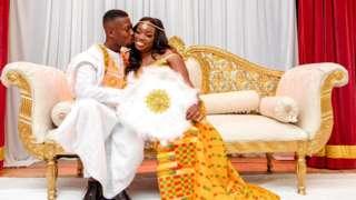 Geoffrey and Angela's wedding photo