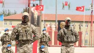 Ciidamada Soomaalida ee uu Turkiga tababaro