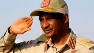 "Mohamed Hamdan Dagolo, simply known as ""Hemeti"""