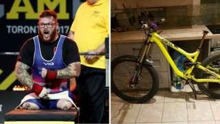 Ash Hall and Bike