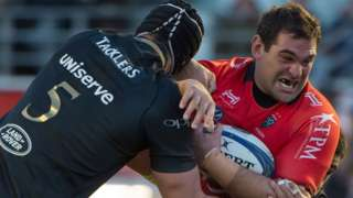 Toulon beat Bath in the Champions Cup