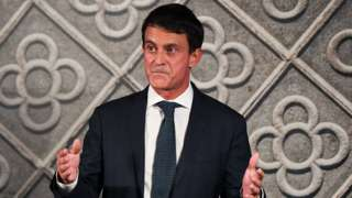 Manuel Valls announces his bid to be mayor of Barcelona at the Centre De cultura Contemporanea de Barcelona on 25 September 2018 in Barcelona, Spain.