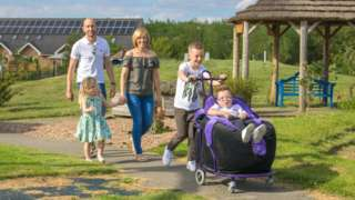 Jacob White and his family usually benefit from respite care at Bluebell Wood Children's Hospice