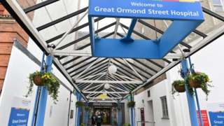 Great Ormond Street Hospital entrance