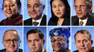 """""""Director-General of World Trade Organization election"""" candidates"""