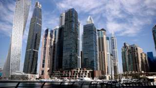 A view of Dubai Marina