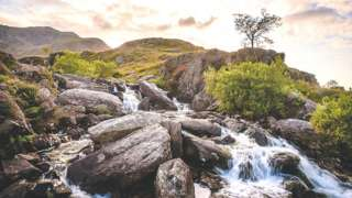 Upland stream