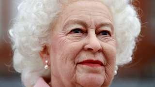 Waxwork of the Queen