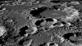 ASA tweeted images of landing site where Vikram attempted a descent.