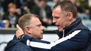 Mark Robins and Graham Coughlan