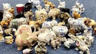 Elephant ornaments