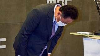 박성제 MBC 사장이 26일 기자회견을 갖고 2020 도쿄올림픽 중계 논란에 대해 사과했다