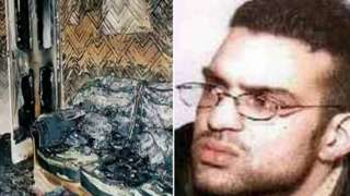 Shahid Mohammed and scene of fire