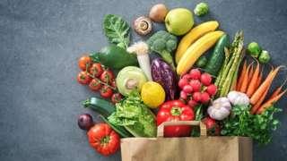 新鲜的水果和沙拉不能取代