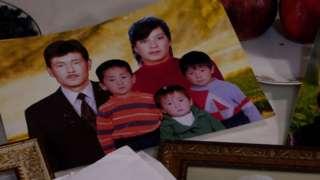 Some of Khalida Akytkankyzy's family