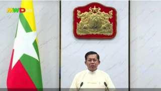 အိမ်စောင့်အစိုးရ နိုင်ငံတော် ဝန်ကြီးချုပ်နေရာကို စစ်ကောင်စီဥက္ကဋ္ဌက တာဝန်ယူ