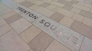 Trenton Square engraving