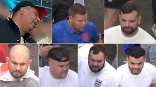 Men sought by Met Police following disturbances in Wembley and central London