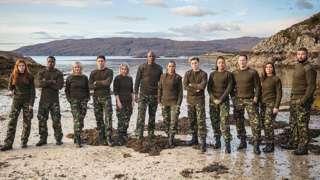Celebrity SAS line-up