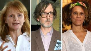 Maxine Peake, Jarvis Cocker and Bernadine Evaristo