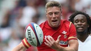 Rhys Priestland of Wales