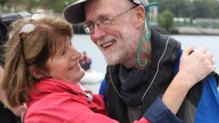 Garry Crothers and wife Marie