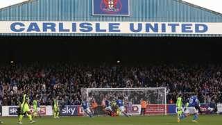 Carlisle United's Brunton Park