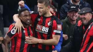 Bournemouth celebrate