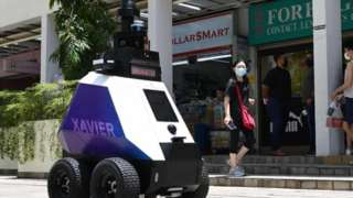 Robô-patrulha de Cingapura