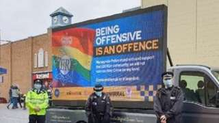 Offensive police campaign