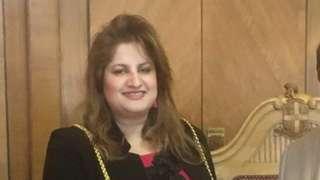 Mayor of Luton Borough Council, Naseem Ayub