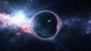lubang hitam, supermassive black hole