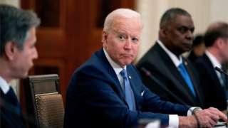 Joe Biden holds talks with South Korean President Moon Jae-In