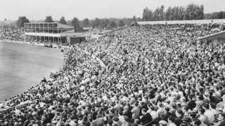 The record attendance at a County Championship match at Edgbaston is 28,000 against Lancashire in the championship-winning season of 1951
