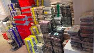 Cocaine haul seized