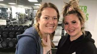 Joanna Cokell and Rachael Martin