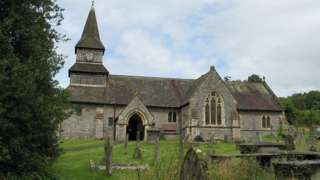 St Andrew's church, Norton, Powys