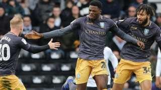 Dominic Iorfa scores for Sheffield Wednesday