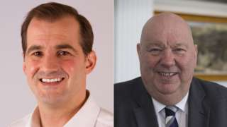 Northern Powerhouse minister Jake Berry MP and Joe Anderson