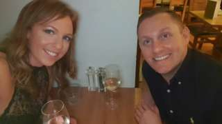 Kate McHenry y su pareja Craig Gordon.