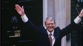 Sir John Major in 1992