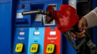 Estación de gasolina en Estados Unidos.