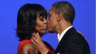 Obamas for Inaugural dance