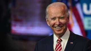 Jo Biden, 16 November
