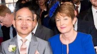 Richard and Angela Wong