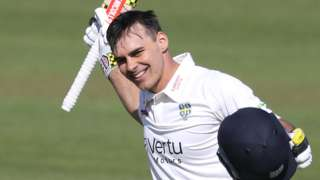 David Bedingham's 257 followed up his previous career-best 180 not out against Nottinghamshire just a fortnight ago