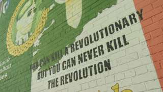 Dissident republican mural